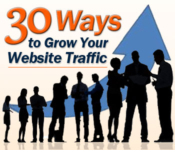 30 Ways to Grow Your Website Traffic