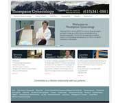 Website design for Thompson Gynecology